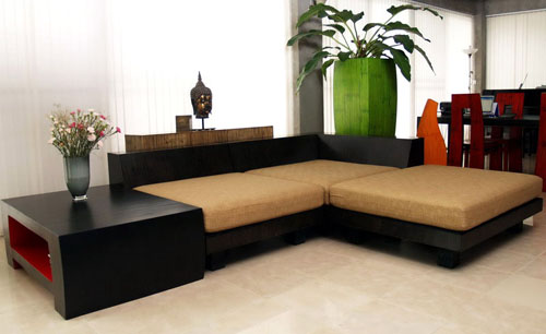 Island furniture phuket thailand living room for Island living room furniture