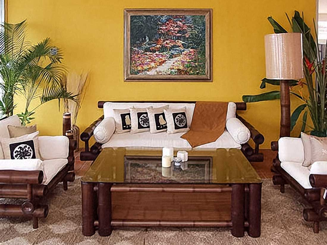 the best 100+ bamboo living room furniture image collections
